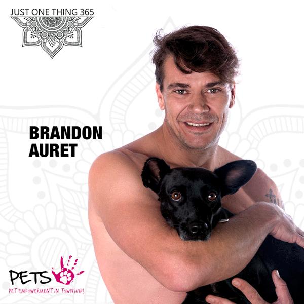 Brandon Auret - InOurSkins - JustOneThing365
