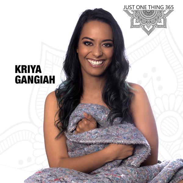 Kriya Gangiah - InOurSkins - JustOneThing365