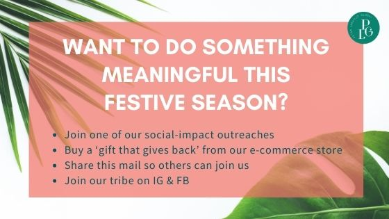 Want to do something meaningful this festive season?