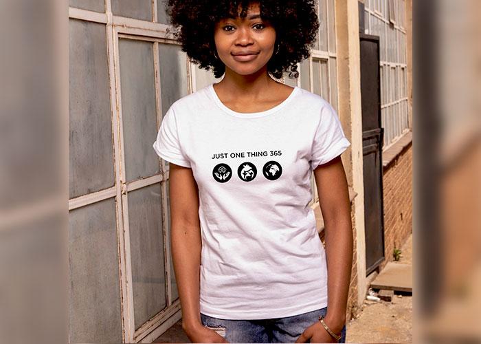 JustOneThing 365 Icon T shirt Ladies