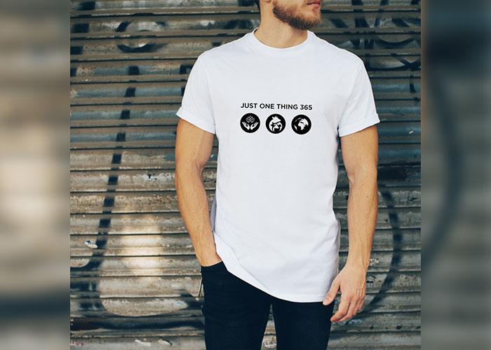JustOneThing 365 Icon T shirt Mens