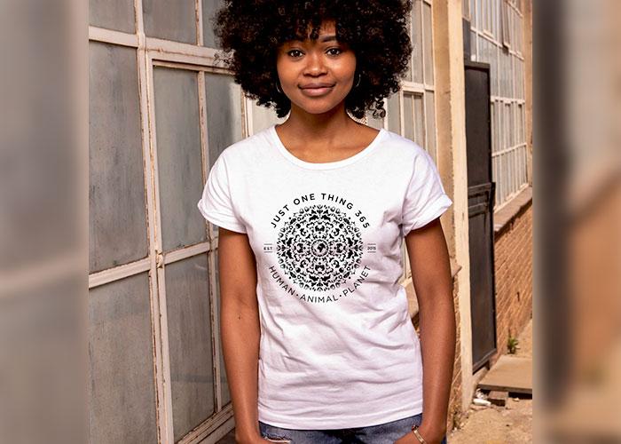 JustOneThing 365 Mandala T shirt Ladies