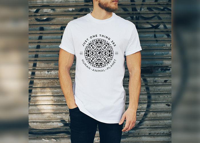 JustOneThing 365 Mandala T shirt Mens